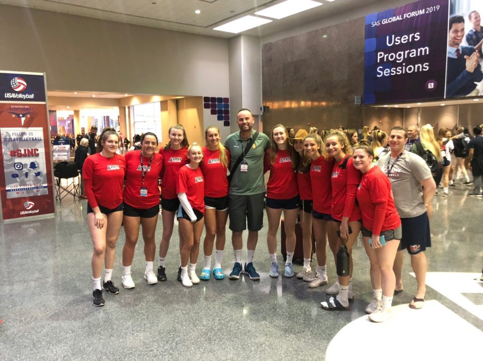 Girls 18 Red - Competed in the Girls Junior National Championships in Dallas, TX