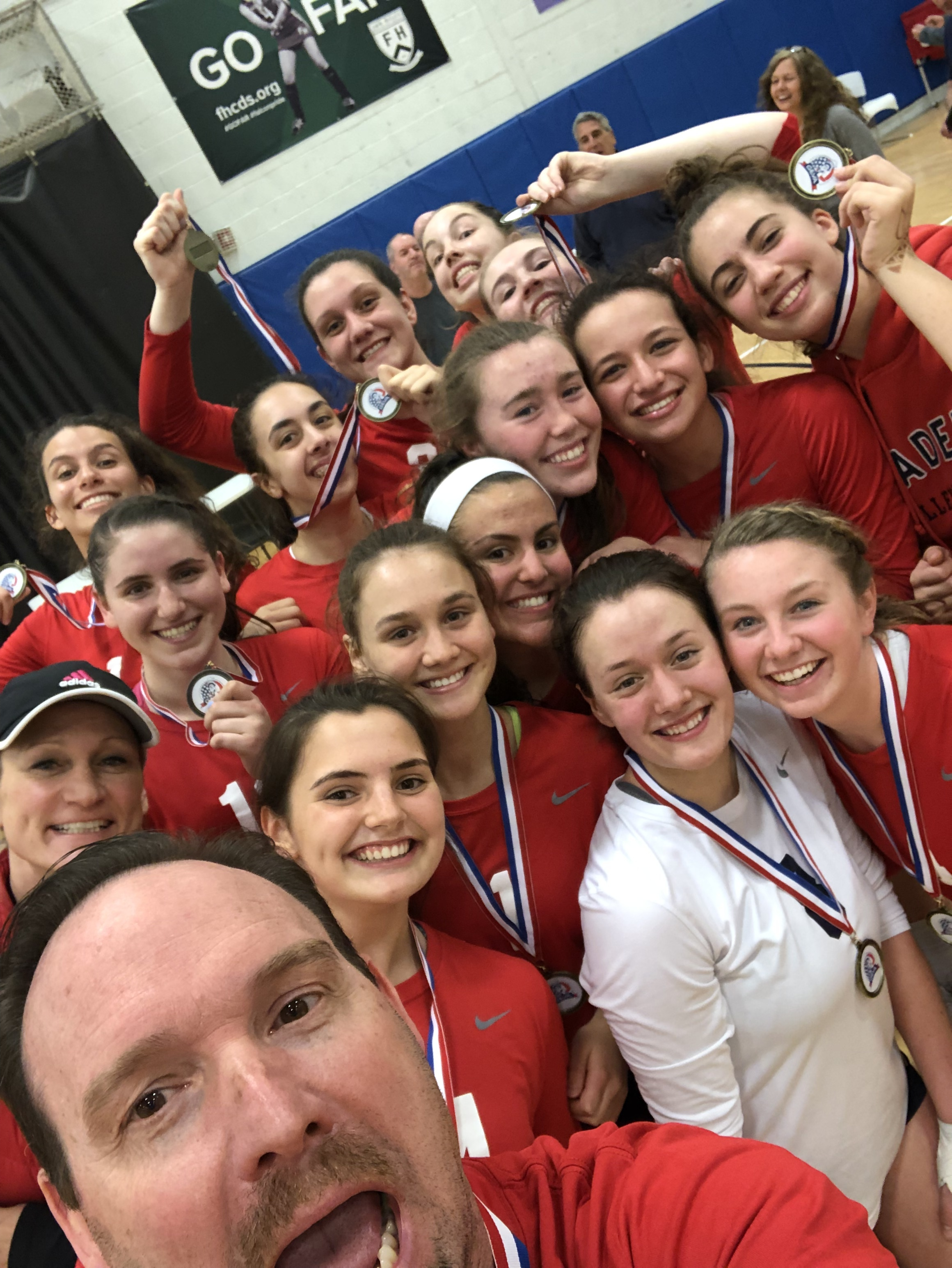 Girls 16 Red - USA Volleyball National Championships, Indianapolis, IN