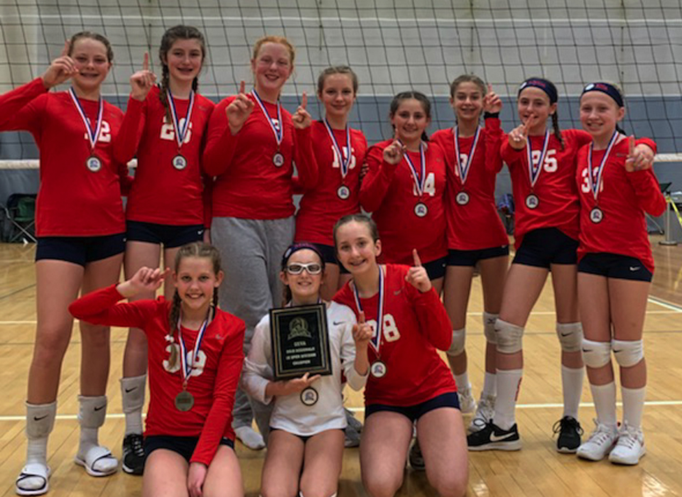 Girls 12 Red - USA Volleyball National Championships, Indianapolis, IN