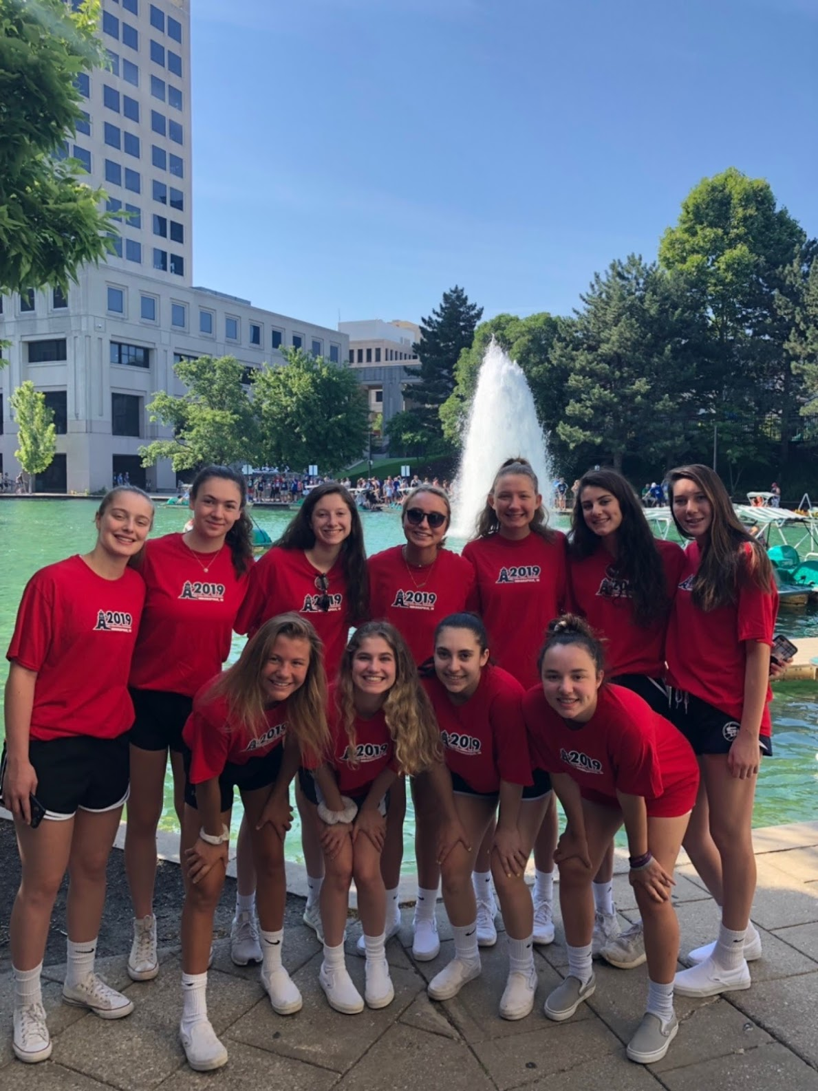 Girls 15 Red in Indy