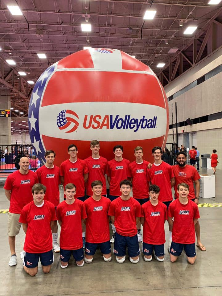 Boys 16 Red at Nationals in Dallas, Texas