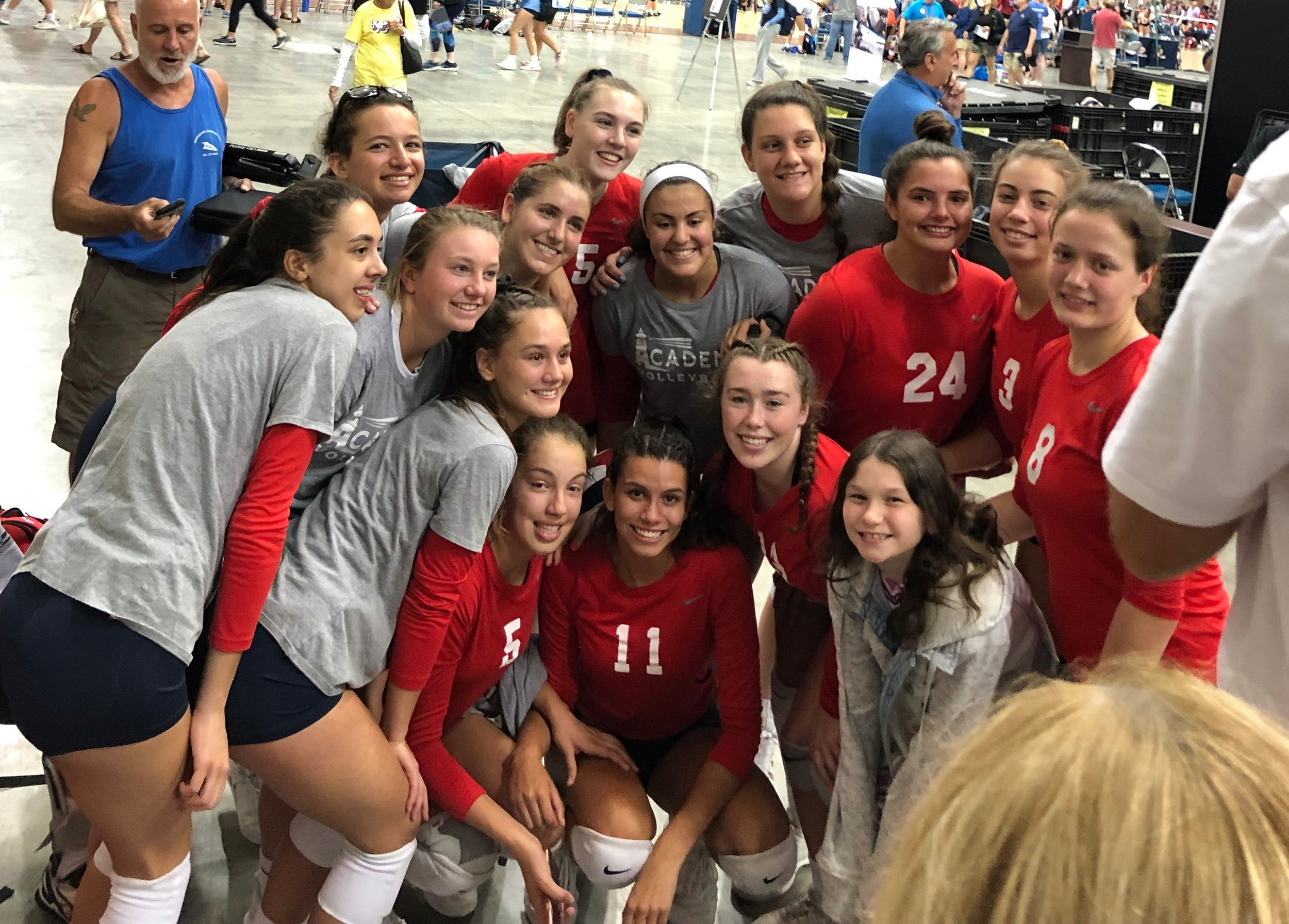 Girls 16 Red