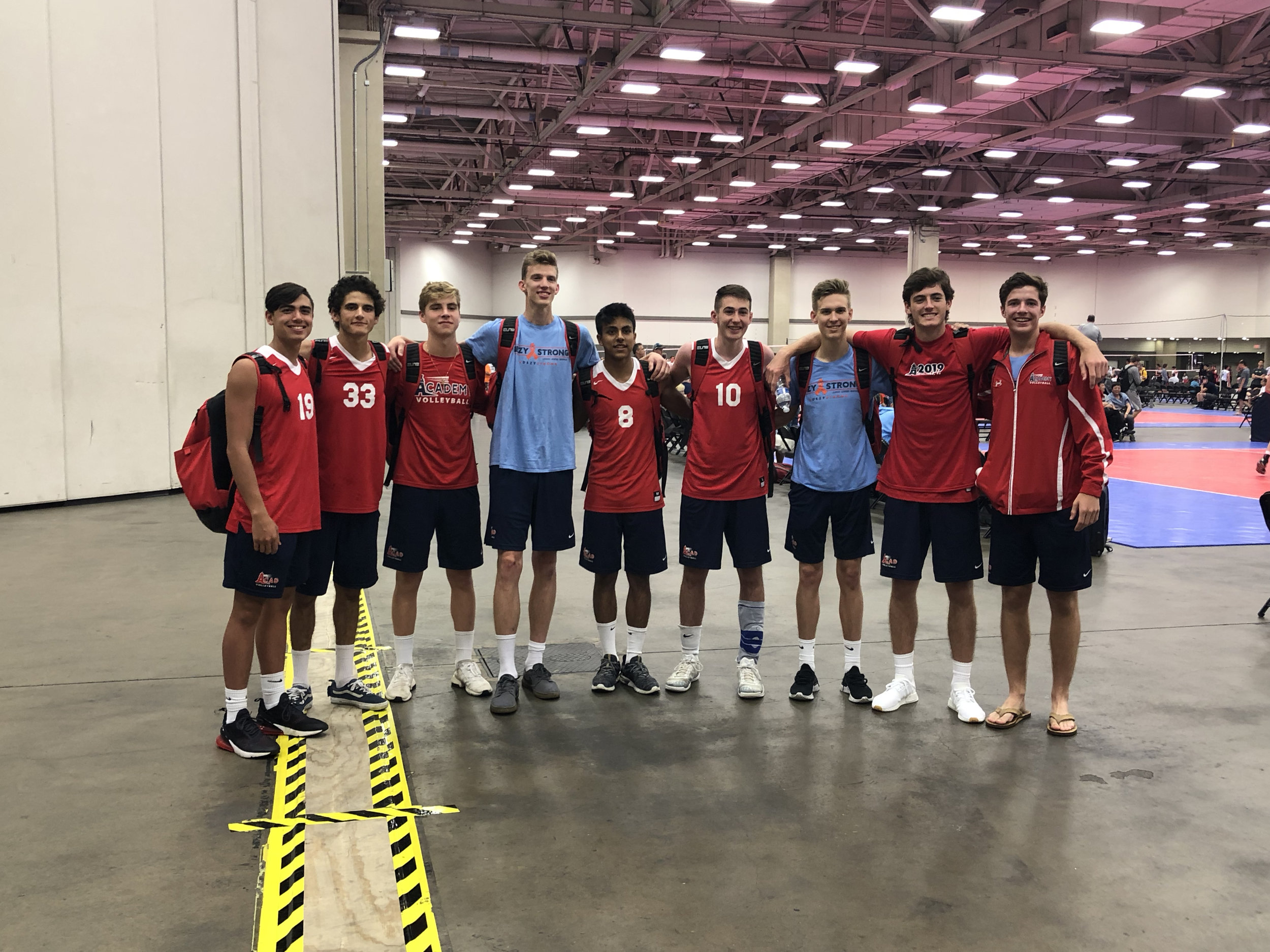 Last tournament for the Boys 18 Red, but will see you next year A-Trey/Trey-J (AJ & Trey)!