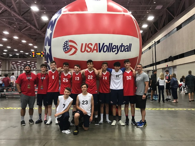 Boys 15 Red are locked and loaded!