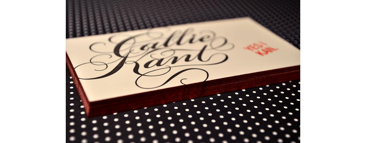 Hand Lettering - Callie Kant