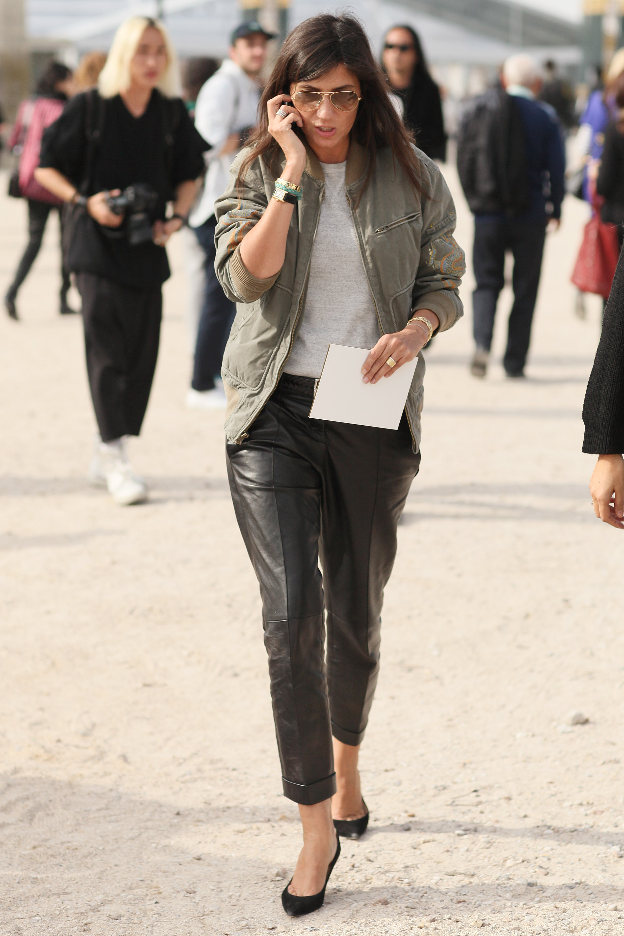 Emmanuelle-Alt-mixed-leather-trousers-faded-bomber.jpg