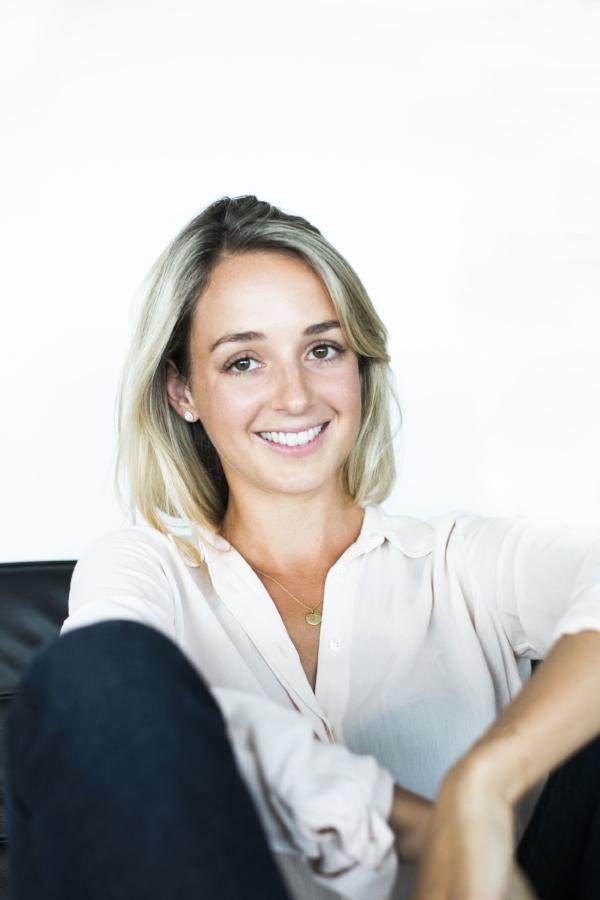 Olivia Thorpe, founder of Vanderohe.com and Vanderohe