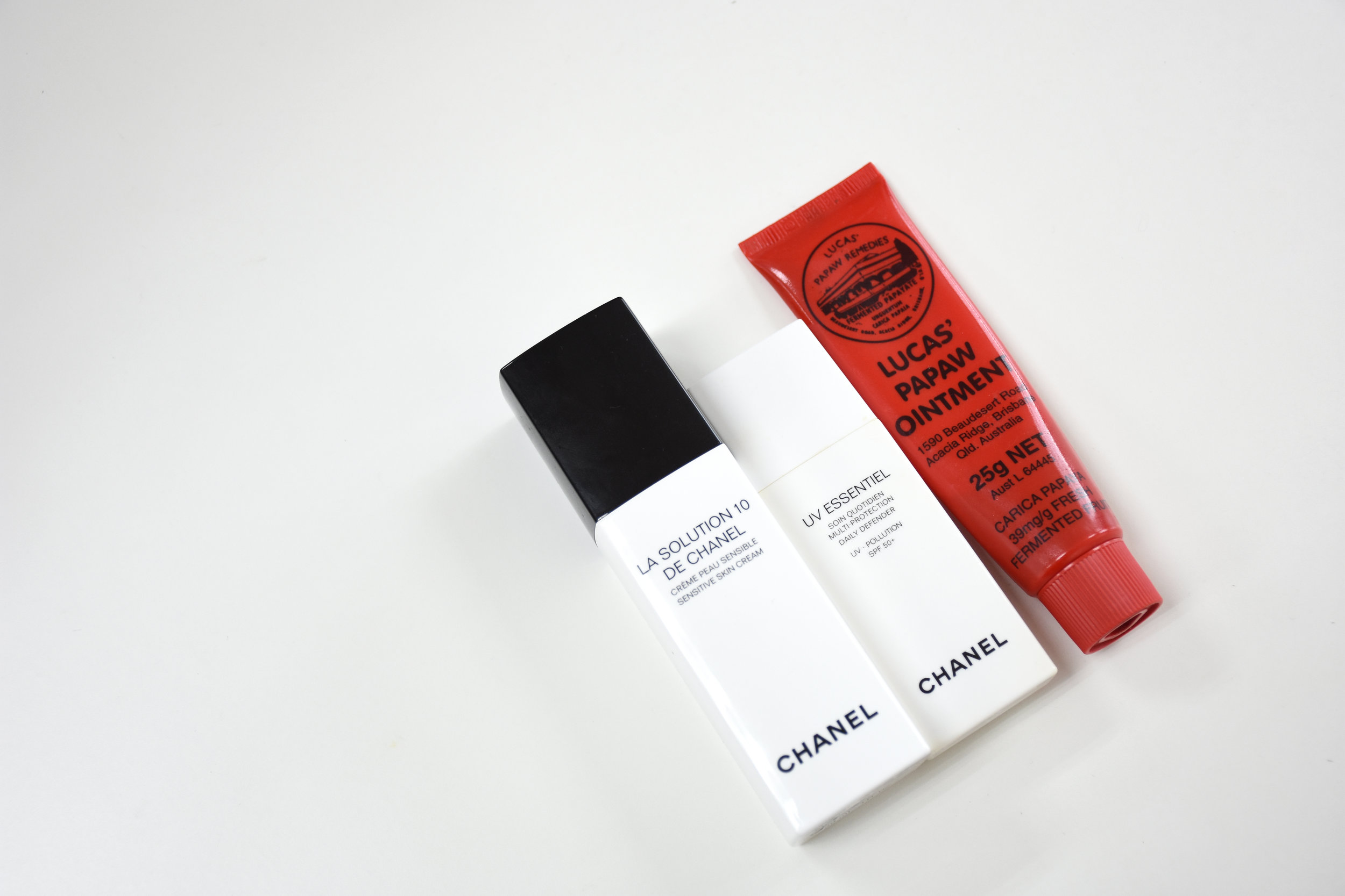 chanel cream and lucas papaw ointment