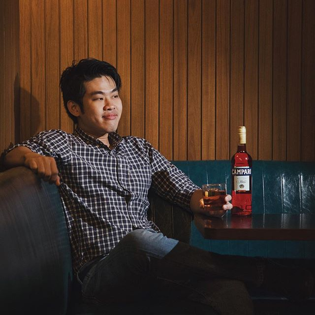 Happy Negroni Week ✨ Our Bartender @pandasam102 is all ready for you to get your hands on his #NegroniWeek special - Cacao Negroni 🥃 . For every Cacao Negroni ordered from 4-10 June, we will be donating $1 to @thenewcharismission ❤️