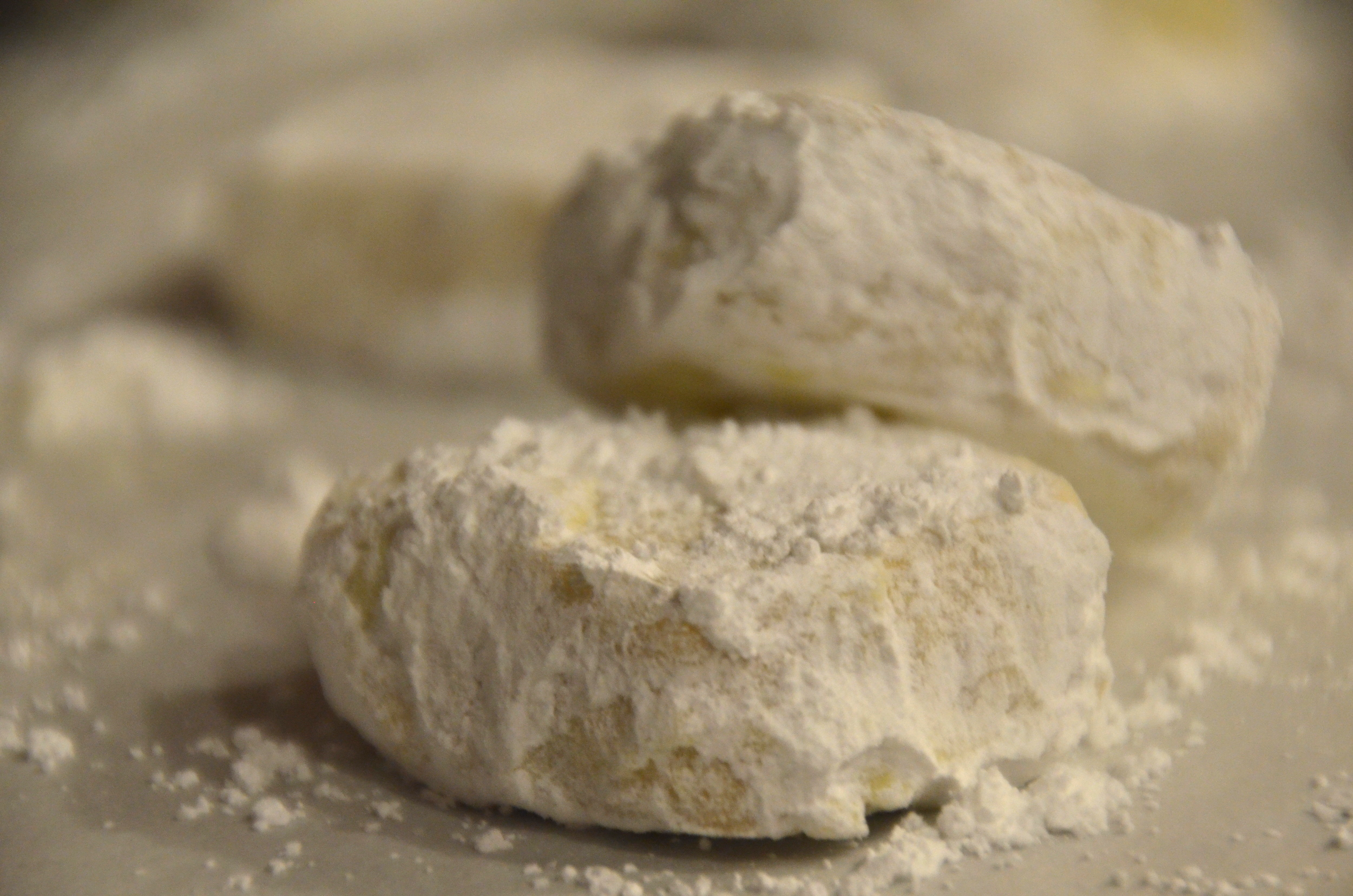 My version of the Mexican Wedding Cake - Sugar Dusted Cashew Shortbread