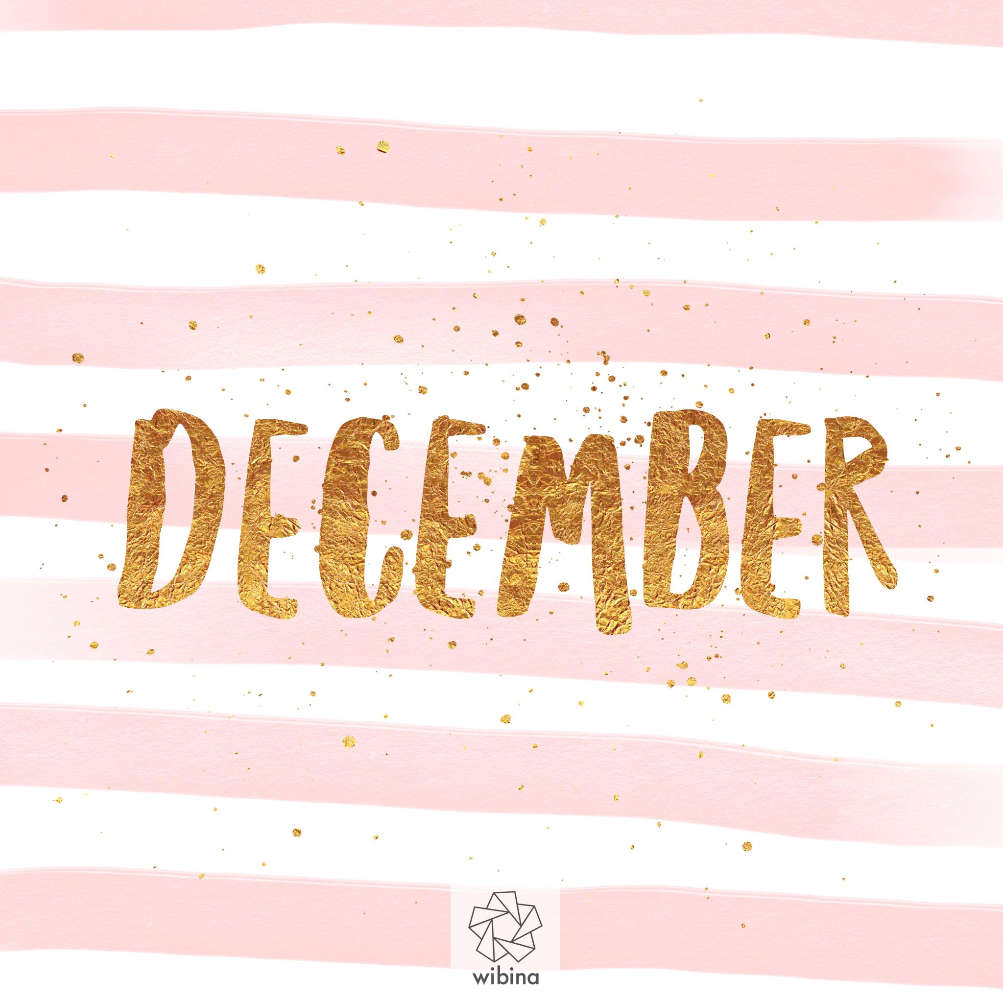 Dear December,