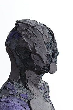 Bust , 2017,   colored concrete