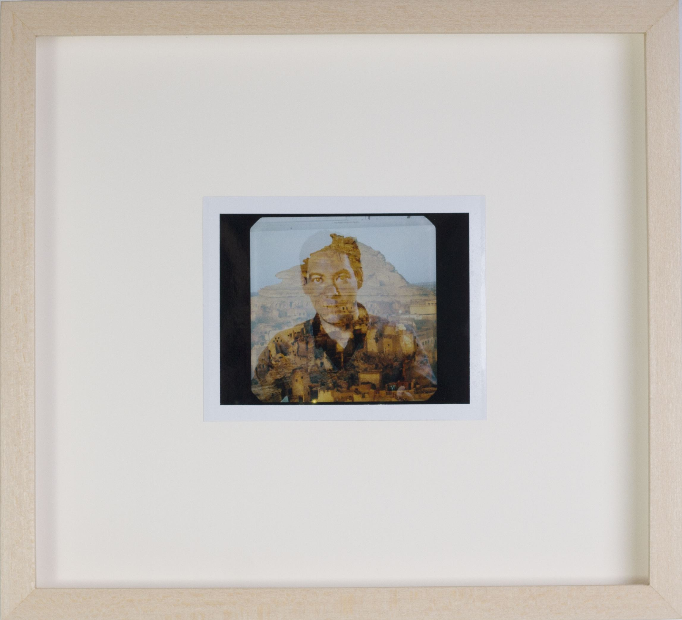 Tommy Hartung    Our Land , 2016  Polaroid  Framed Dimensions: 9.25 x 10.125in. (23.5 x 25.7cm)
