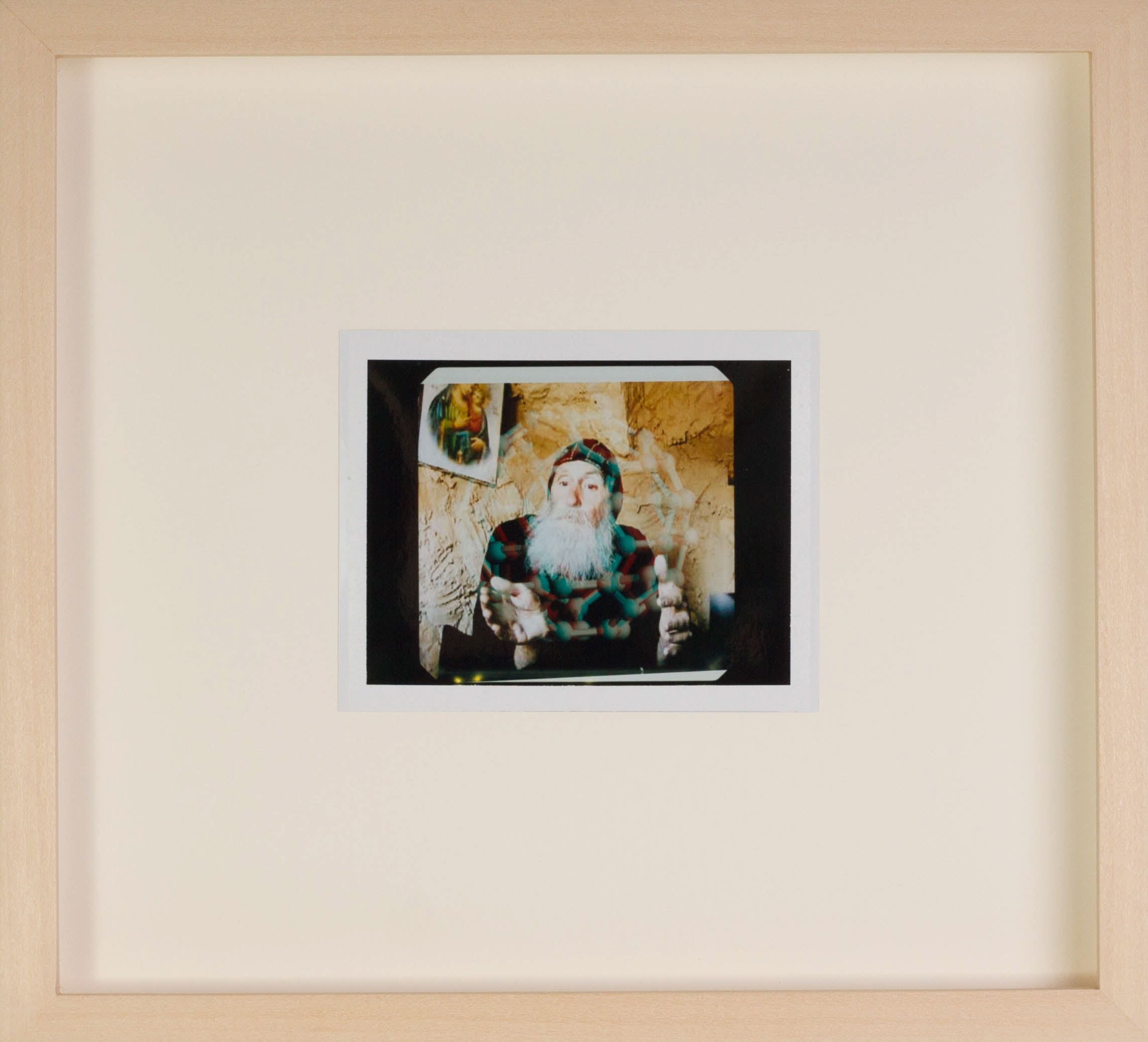 Tommy Hartung    A Good Business Model , 2016  Polaroid  Framed Dimensions: 9.25 x 10.125in. (23.5 x 25.7cm)
