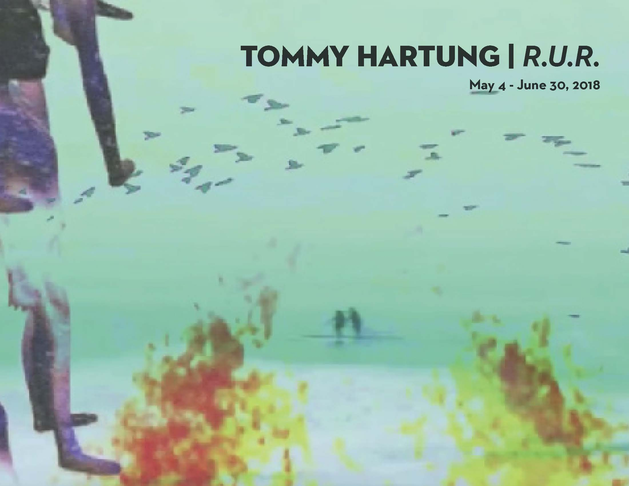 Tommy Hartung R.U.R Exhibition at C24 Contemporary Art Gallery in Chelsea NYC
