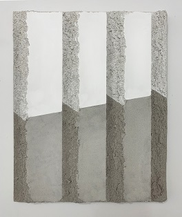 Suzanne Song,  Untitled , 2019, acrylic and pumice on canvas, 24x18in (60.96 x 45.72cm)