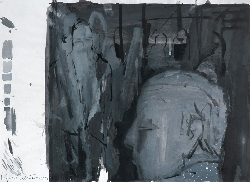 Grey Series No 8-2004-gouache on paper-50x35cm.jpg