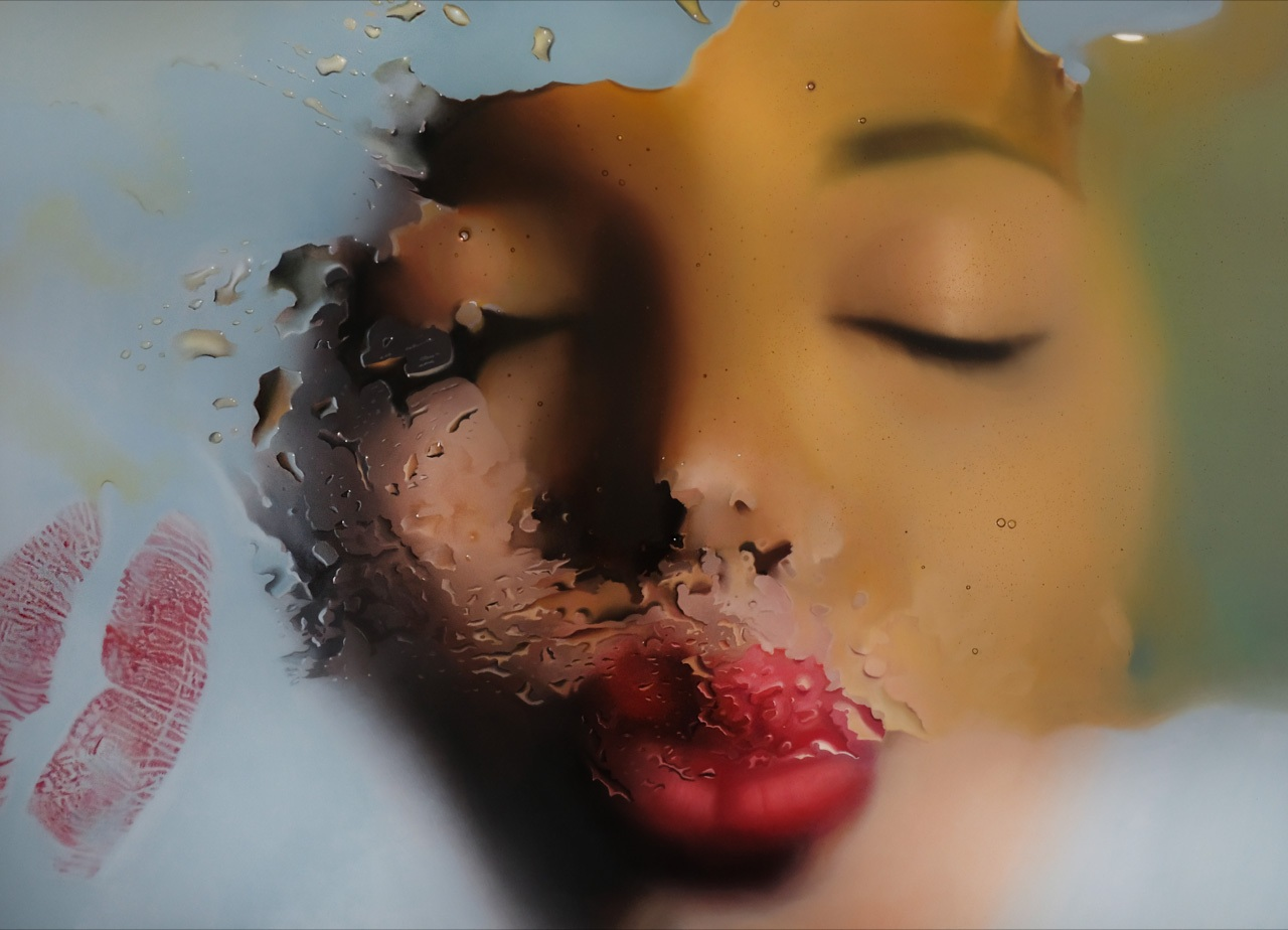 """Mike Dargas,  Reflection of Dreams,  2019, Oil on panel, 40"""" x 60"""""""