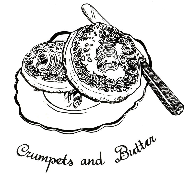 Crumpets and Butter