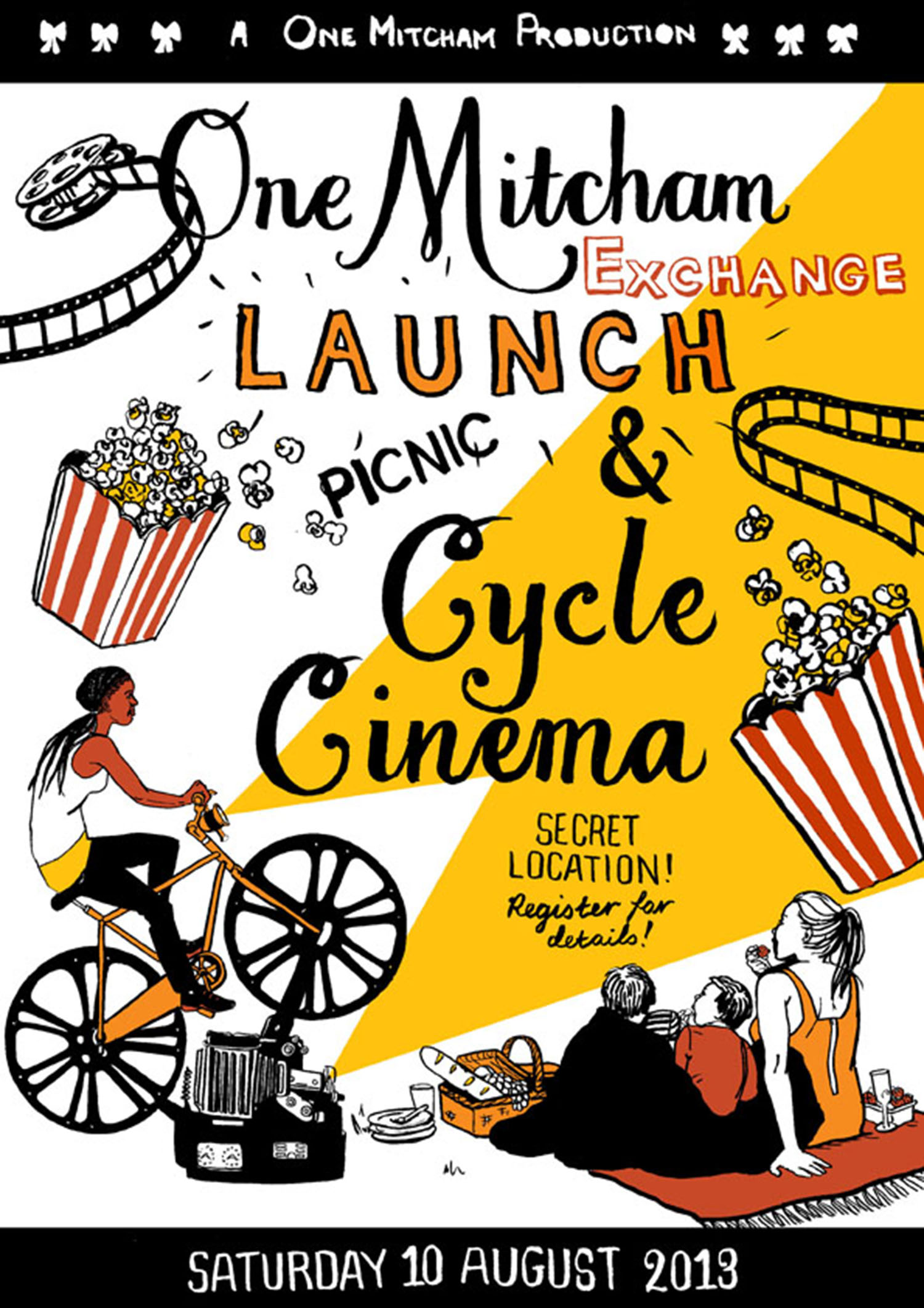 Cycle Cinema event poster