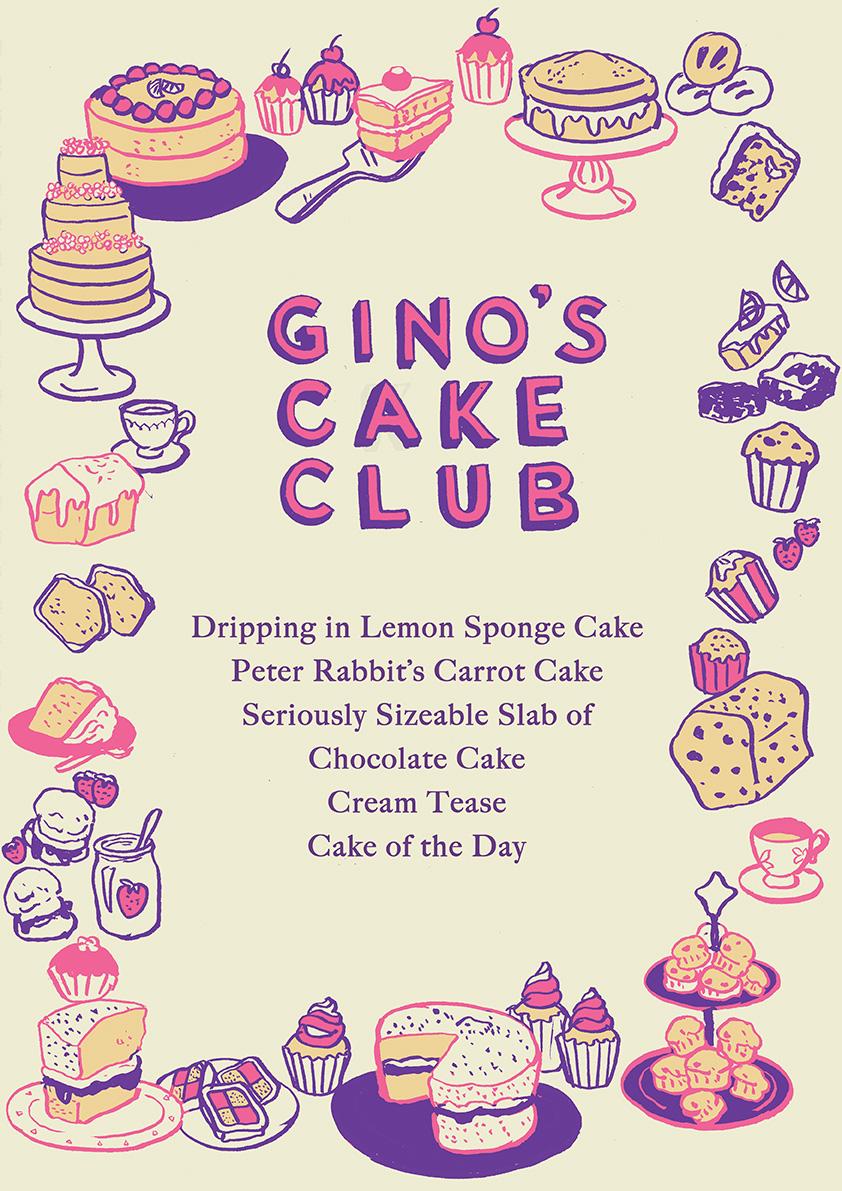 Gino's Cake Club