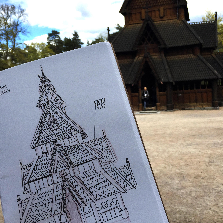 Gol Stave Church - Oslo, Norway