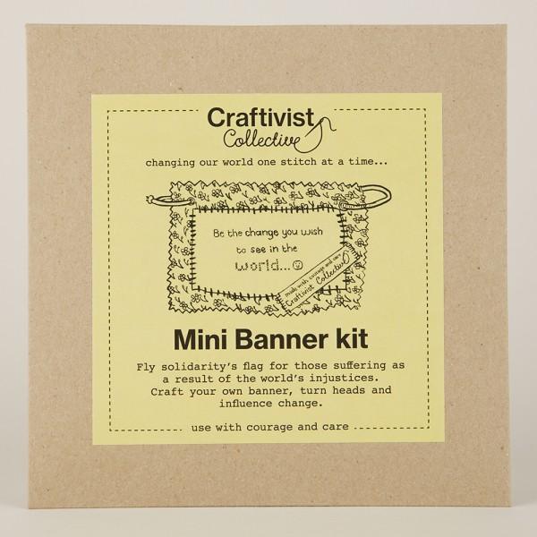 Mini Protest Banner Kit