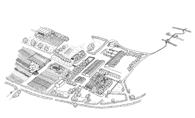 Map of Daylesford Farm