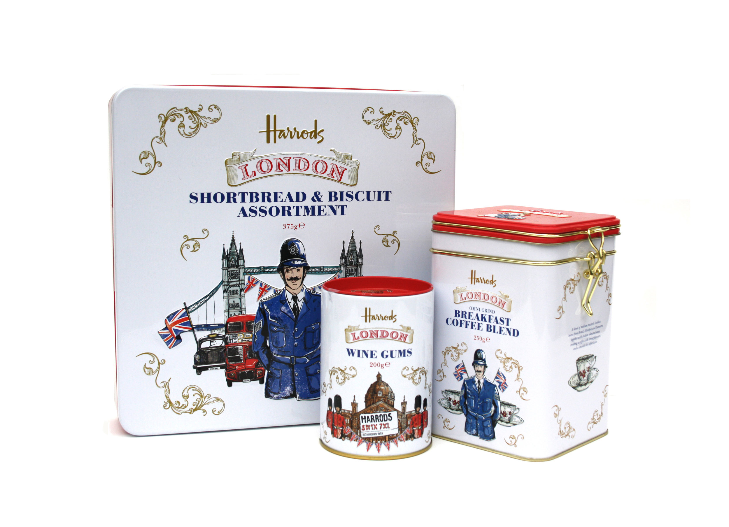 Harrods - London Collection Packaging