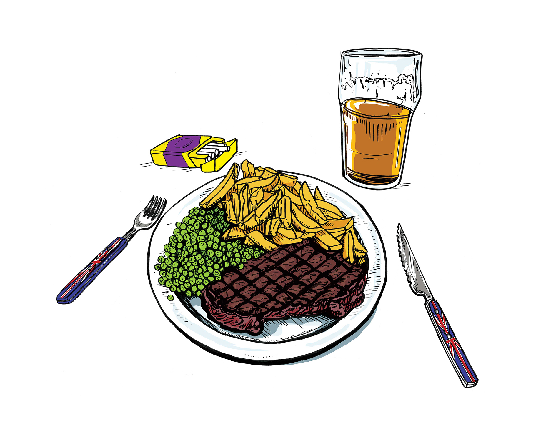 UKIP Dinner for Votes Vs Food Article at Delicious Magazine