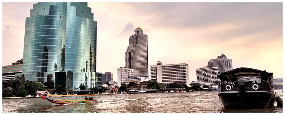 """Menaam"" ('Mother's Water' in Thai language) Chao Phraya River"