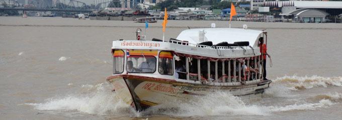 Orange Flag Boat  ,  photo from chaophrayaexpressboat.com
