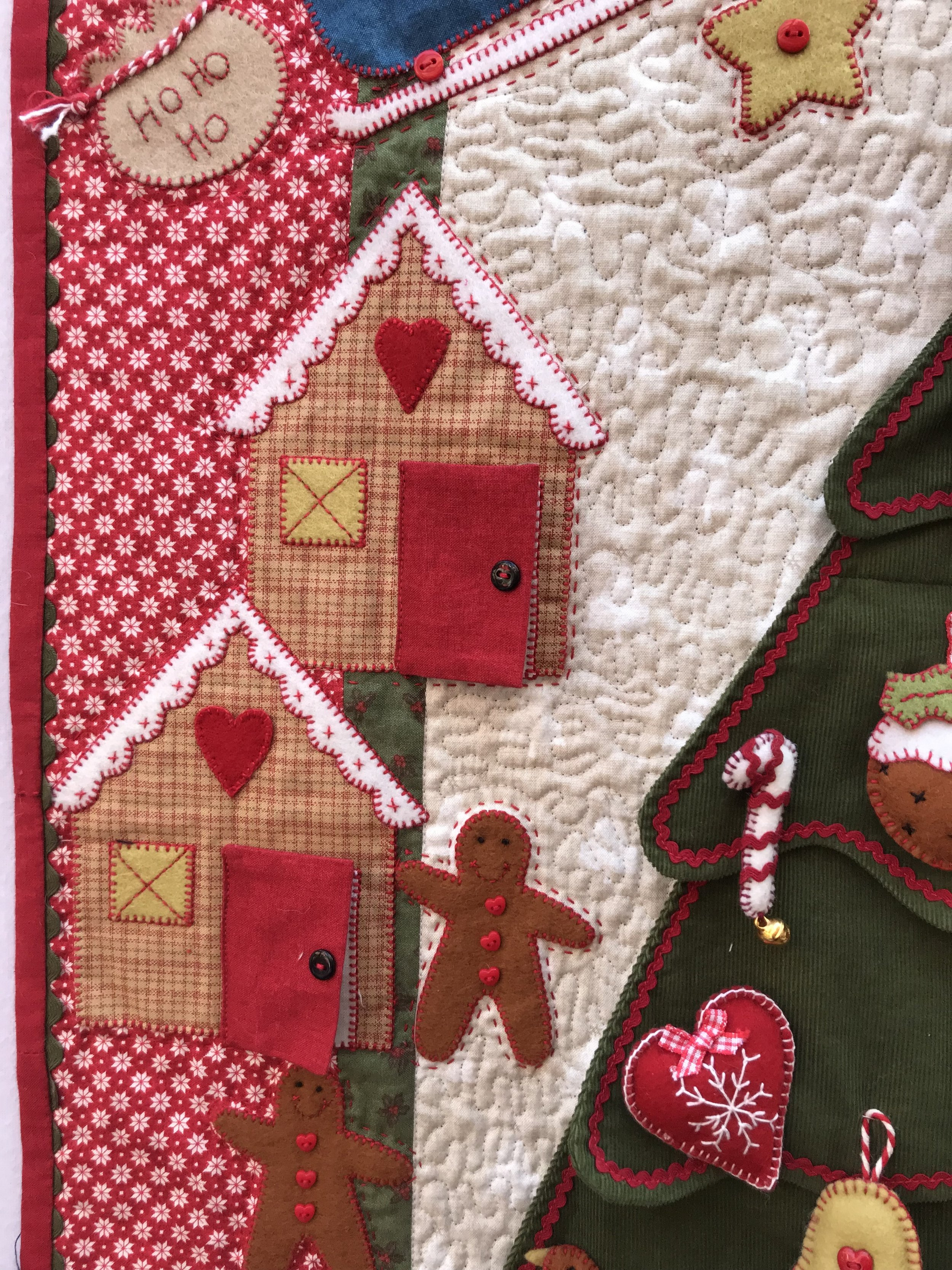 Christmas Tree Advent Calendar Block Of The Month