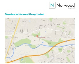 Directions to Norwood Group Limited