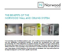 The Benefits of the Norwood Wall and Ceiling System