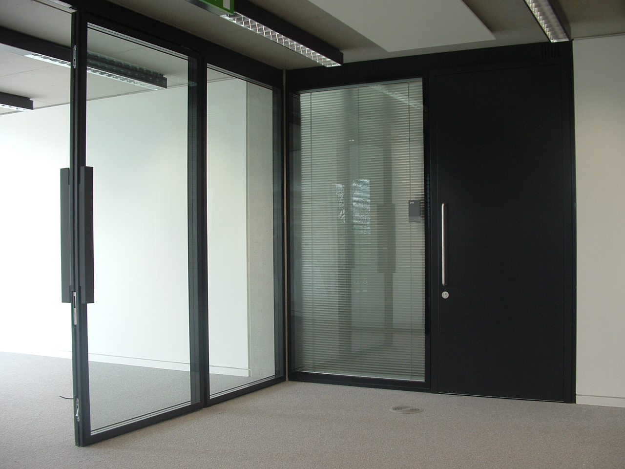 Manor Road - Glazed Partitions and Steel Doors