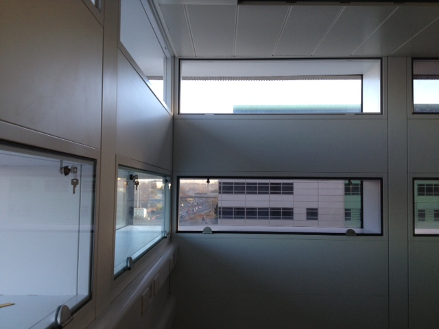 Glasgow royal Infirmary - Glazed Vertical Vision Panels
