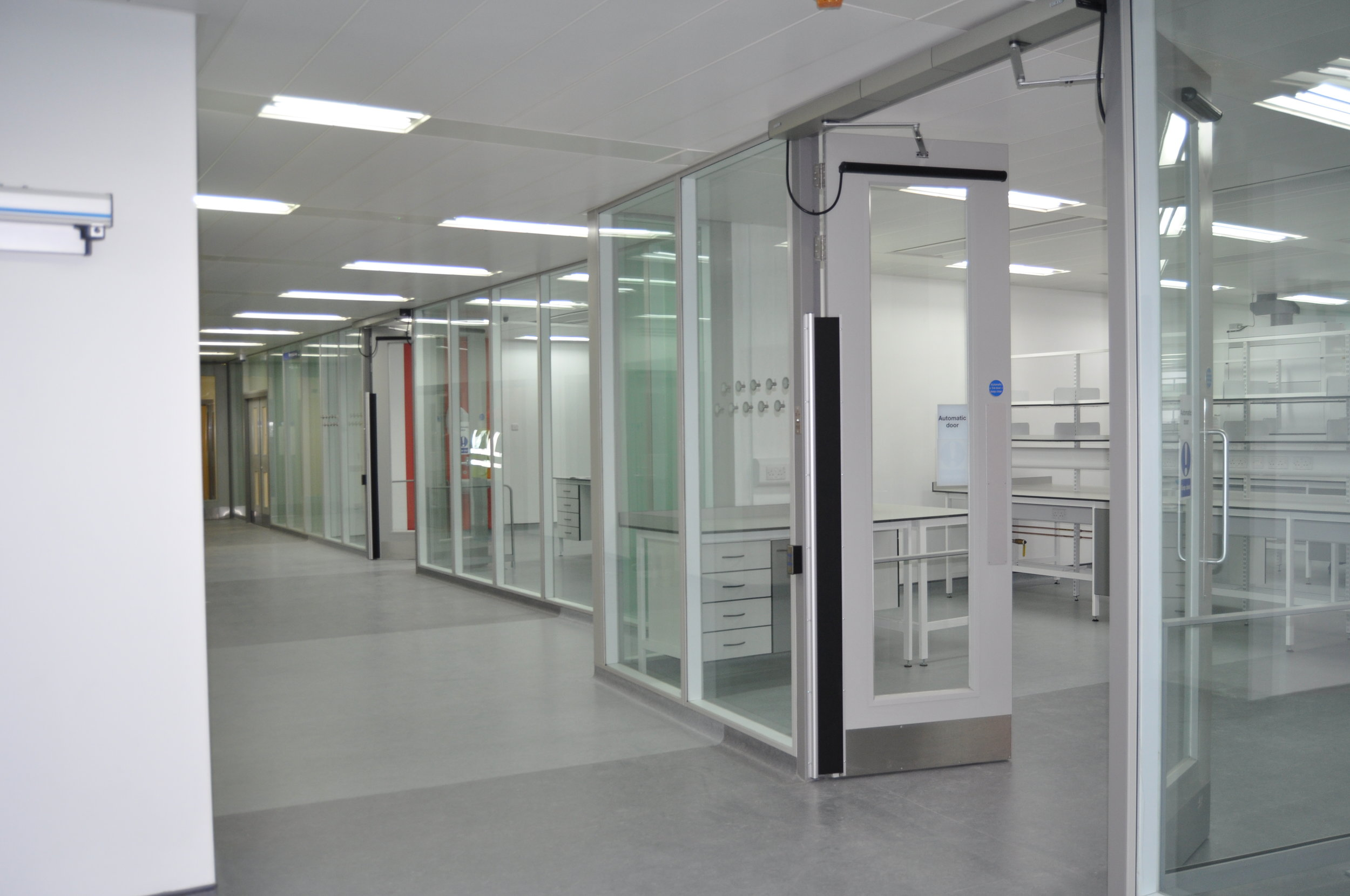 Glasgow Royal Infirmary - Glazed Partitions and Steel Doors