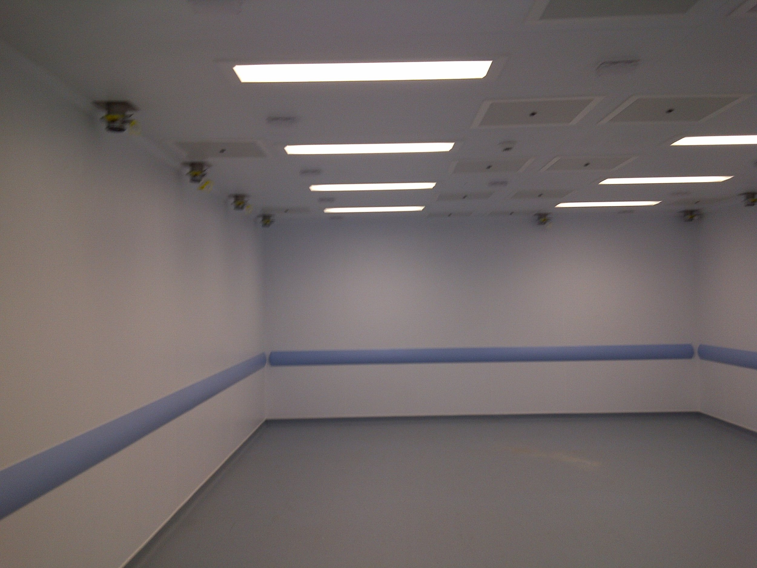 Leicester University - Cleanroom