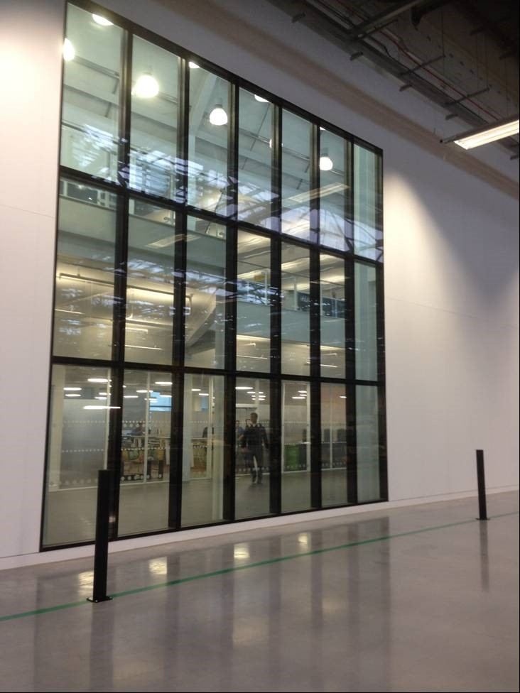 Jaguar Land Rover - Fire Rated Glazed Partitions