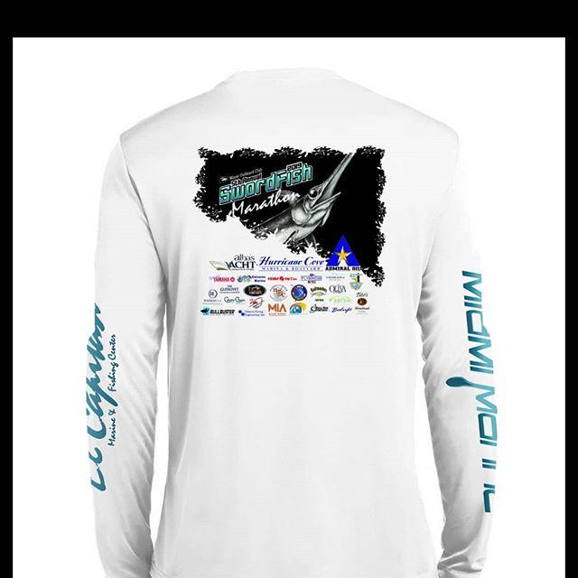 5th Year Annual Swordfish Marathon Swag... 😍 THANKS @reelskinz