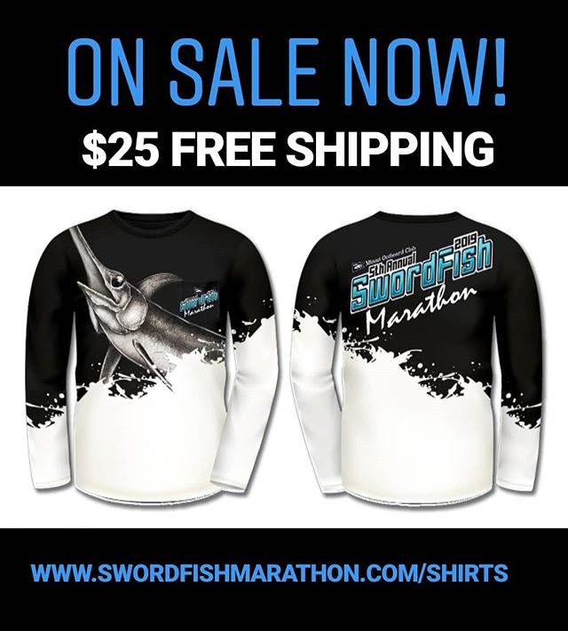 Get your SFM swag! Promo shirts are in and on sale at www.swordfishmarathon.com/shirts
