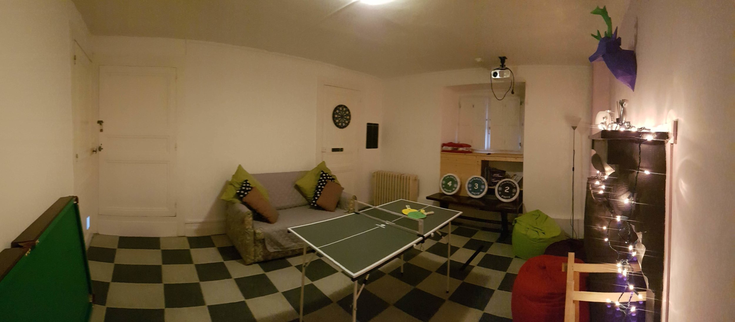 Games and Cinema Room