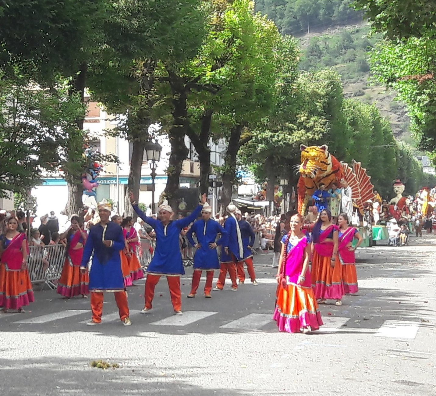 The Fetes des Fleurs - the annual festival in Luchon