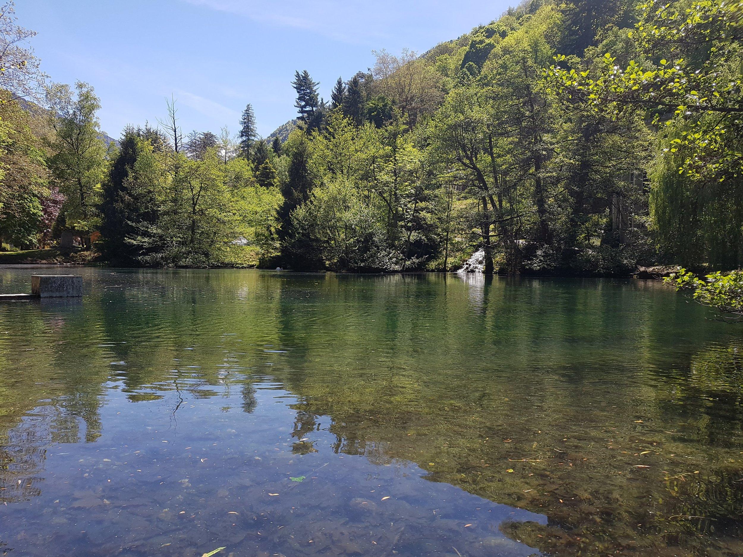 Lac des Quinconces Luchon