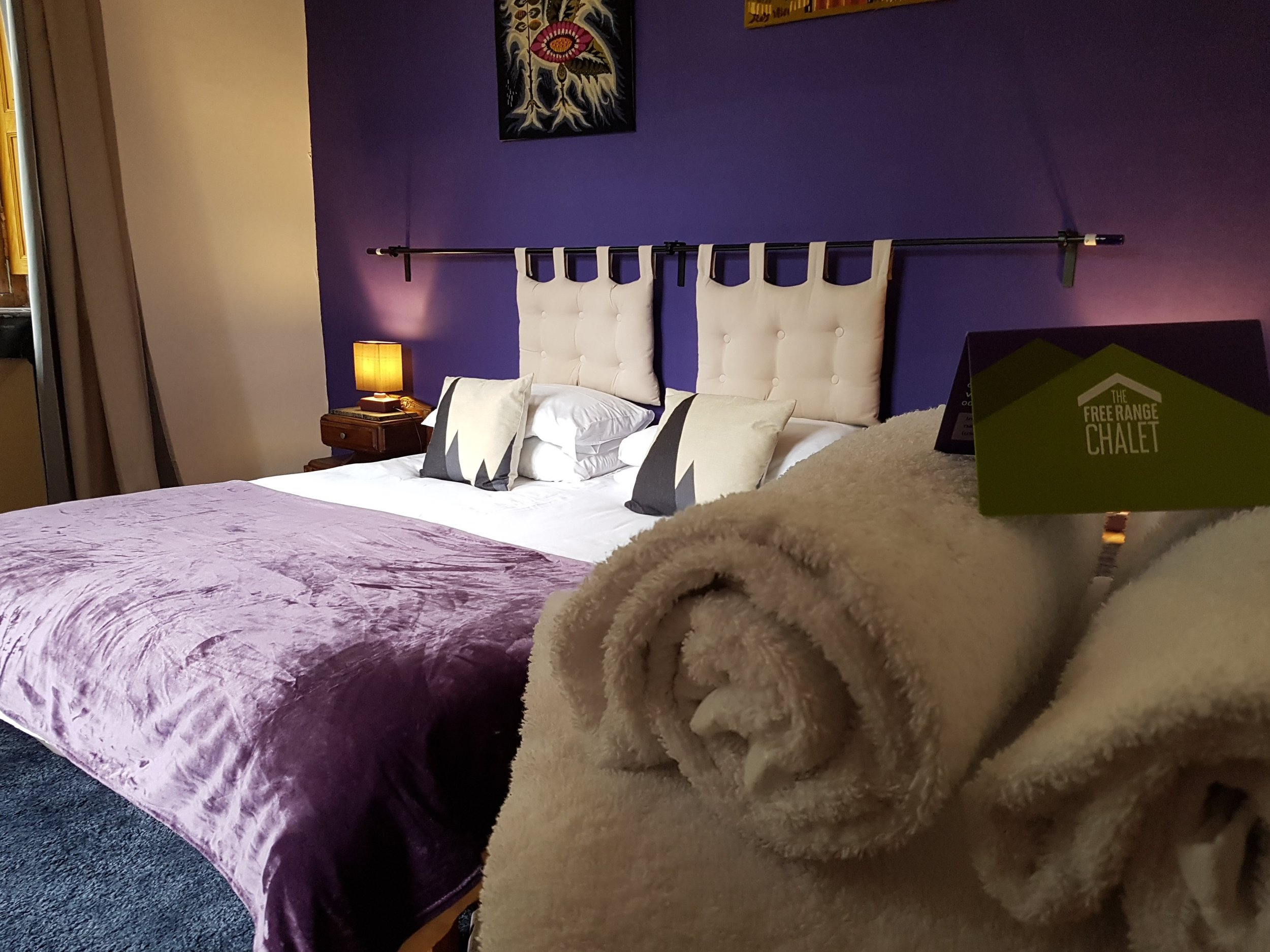 Violet family/friends bedroom - main room can be twin beds or super king with separate bunk room