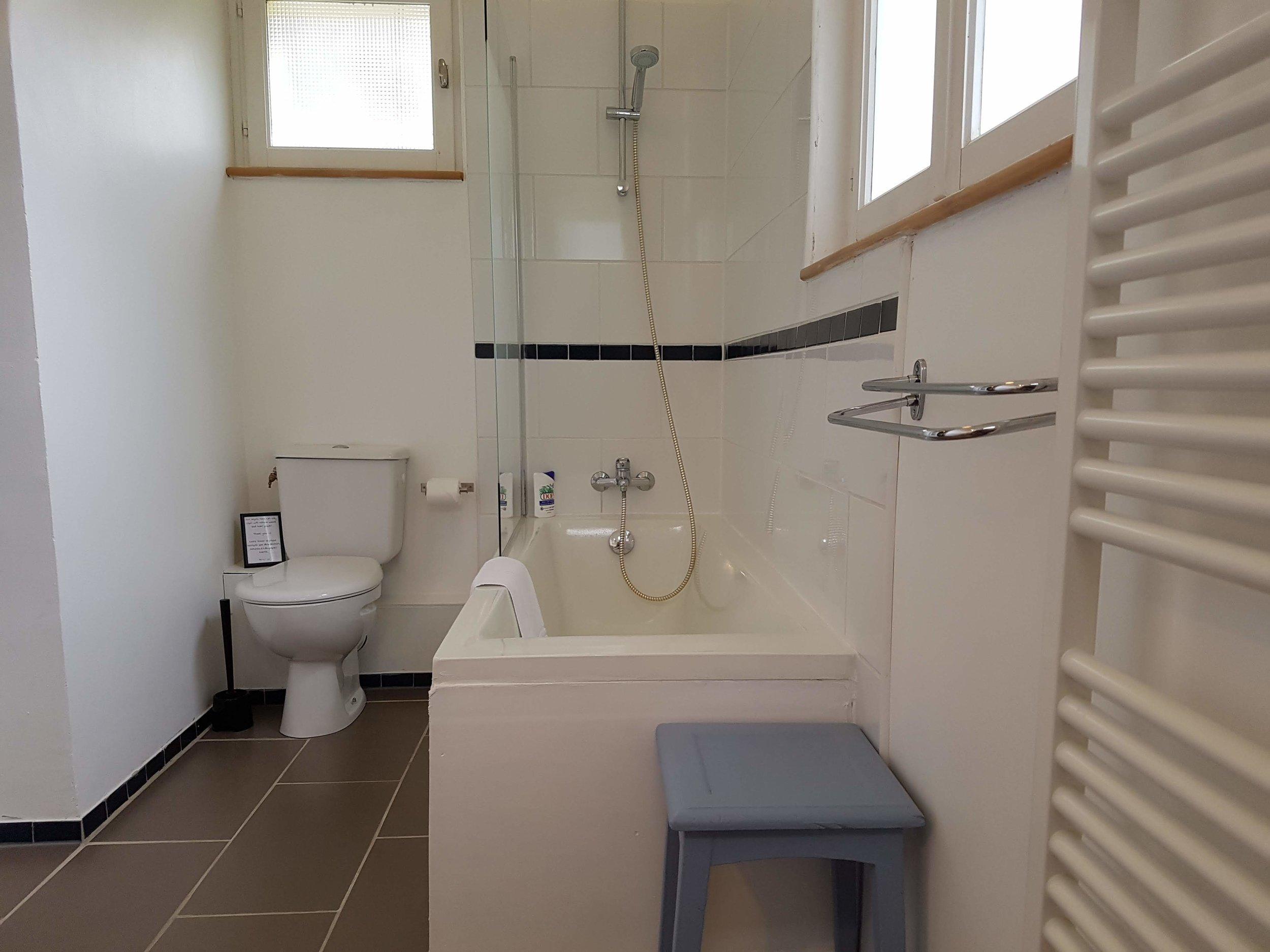 Bathroom for the Violet bedroom