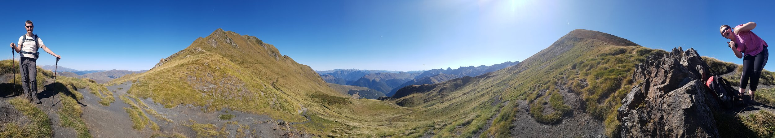 Stunning views on a hike high above superbagneres