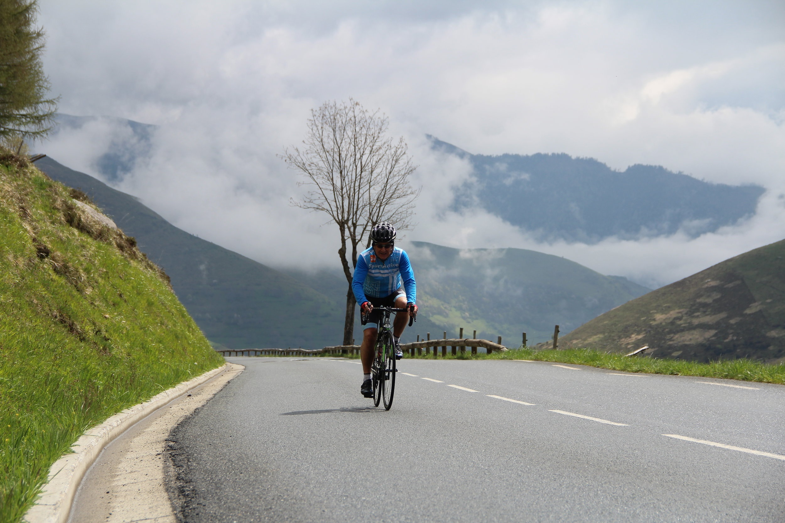 Conquering the Col du Aspin