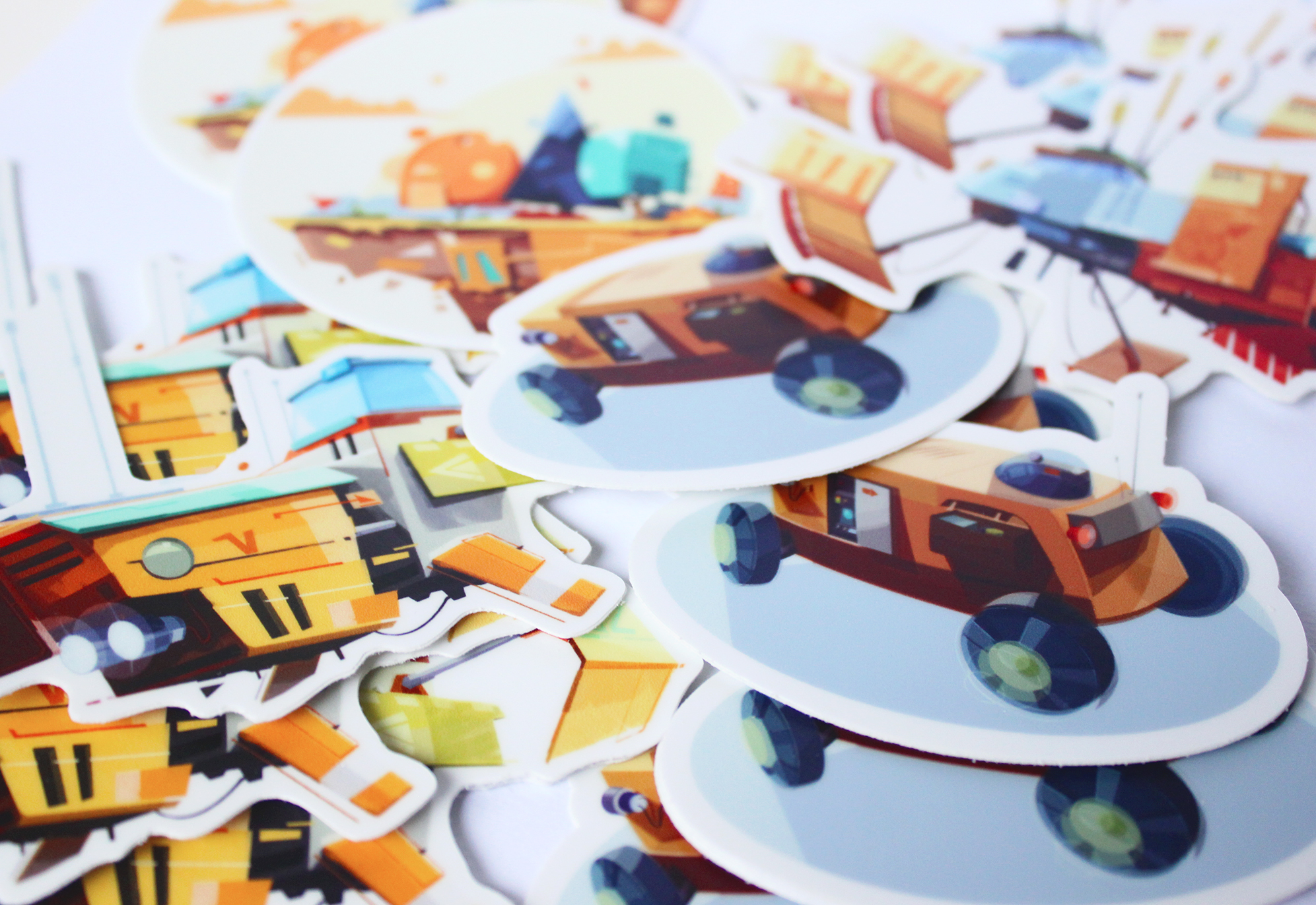 Stickers and Magnets -